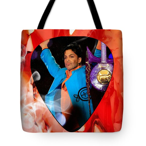 Prince Art Tote Bag by Marvin Blaine