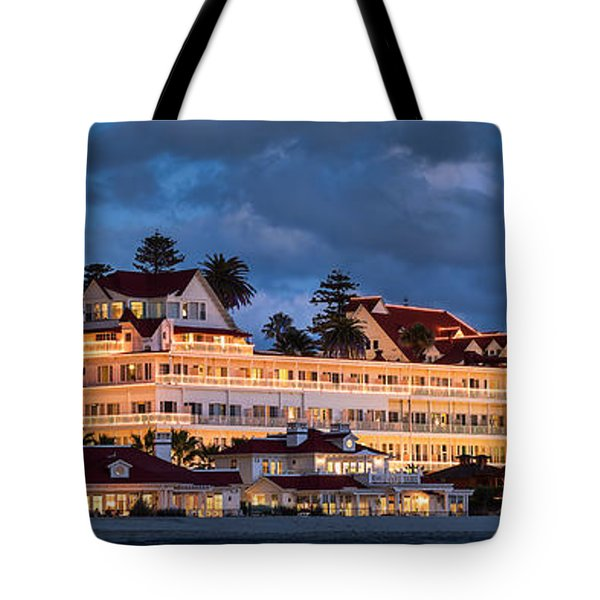 Pure And Simple Pano 60x20 Tote Bag