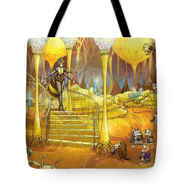 Queen Of The Hive Tote Bag