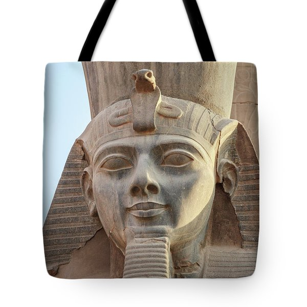 Tote Bag featuring the photograph Rameses by Silvia Bruno