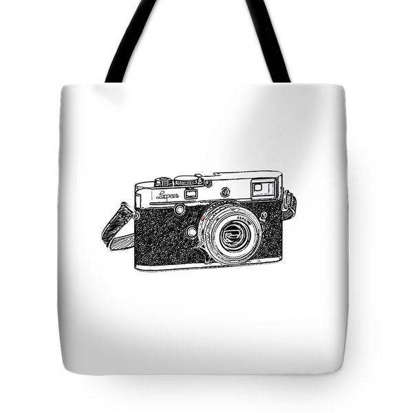 Rangefinder Camera Tote Bag