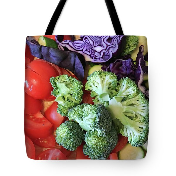 Raw Ingredients Tote Bag