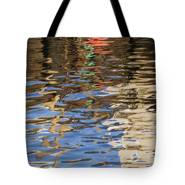 Tote Bag featuring the photograph Reflections by Charles Harden