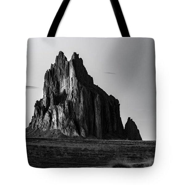 Remote Yet Imposing Tote Bag by Jon Glaser