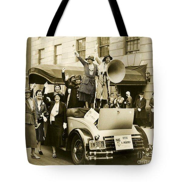 Repeal The 18th Amendment Tote Bag