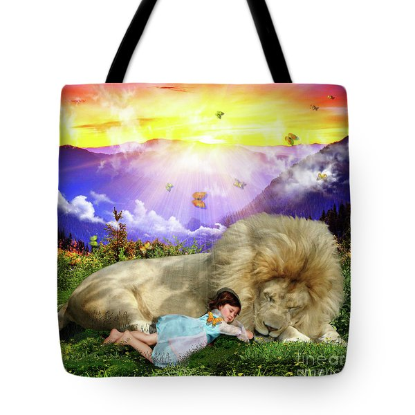 Tote Bag featuring the digital art Rest  by Dolores Develde