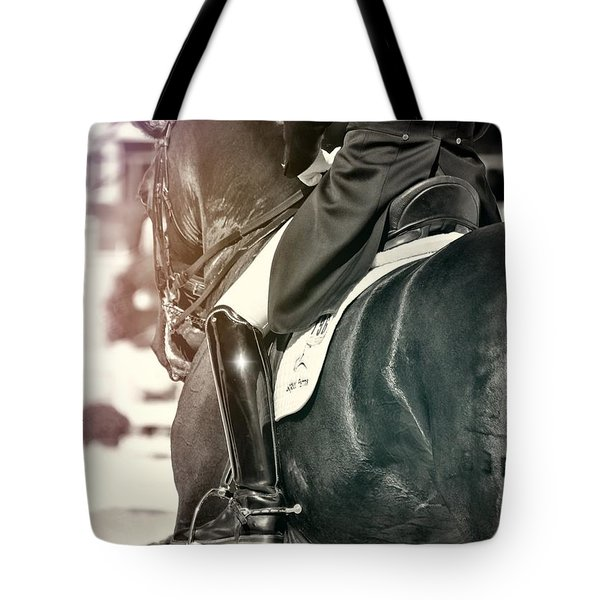 Ride The Rhythm Quote Tote Bag