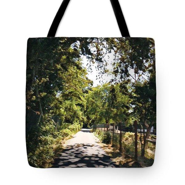 Riverside Park Tote Bag