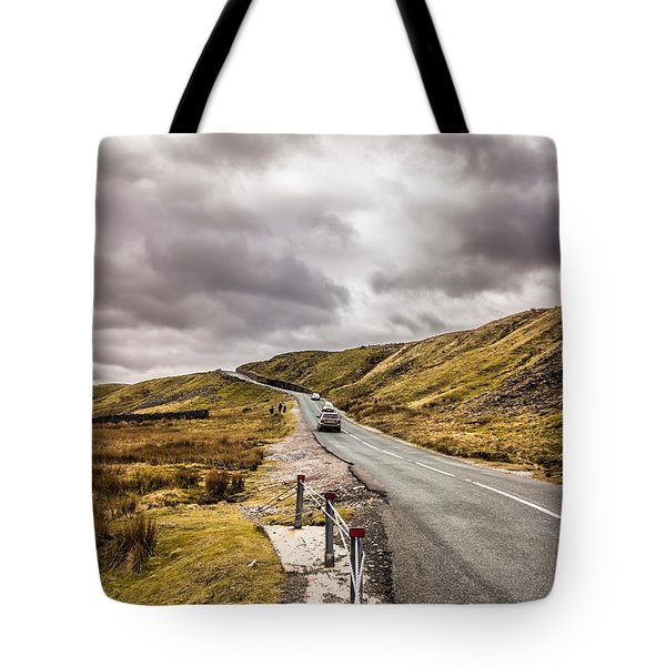 Road To Nowhere Tote Bag by David Warrington