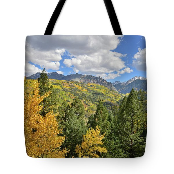 Tote Bag featuring the photograph Road To Sunshine Mesa by Ray Mathis