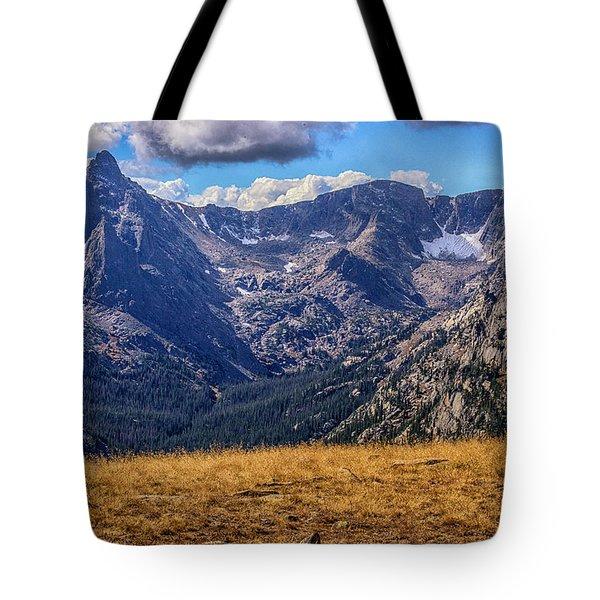 Rocky Mountain National Park Colorado Tote Bag