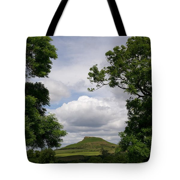 Roseberry Topping Tote Bag by Gary Eason
