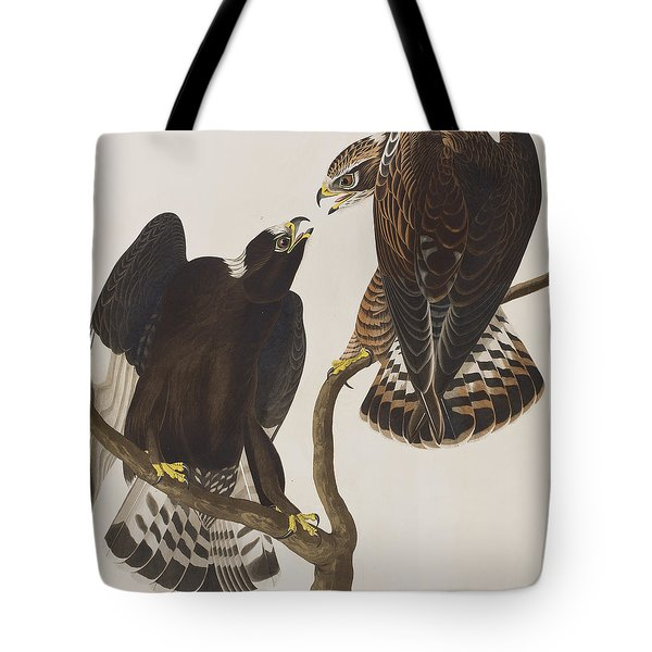 Rough-legged Falcon Tote Bag by John James Audubon