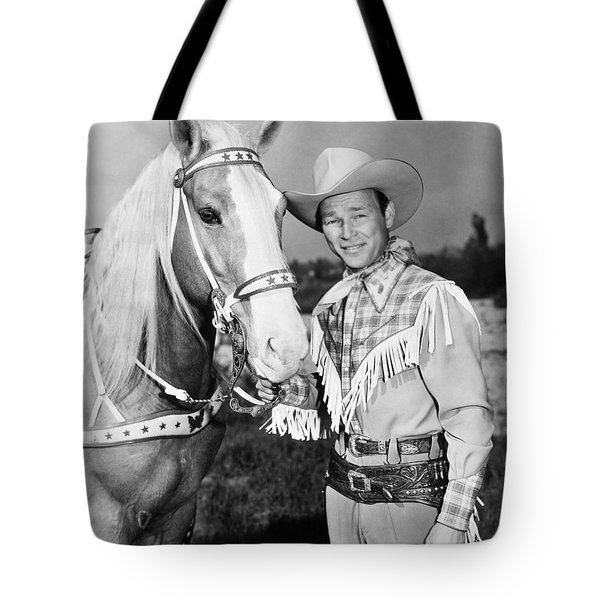 Roy Rogers Tote Bag