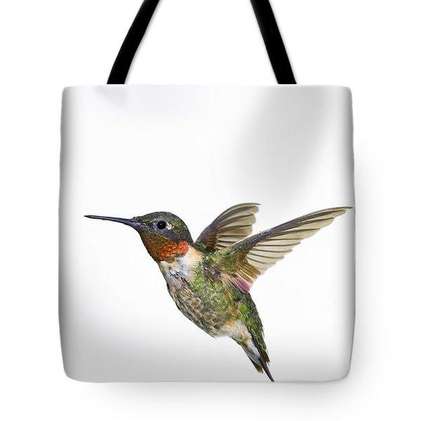 Ruby-throated Hummingbird Archilochus Tote Bag by Thomas Kitchin & Victoria Hurst