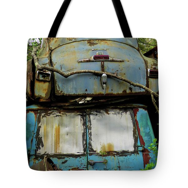Rusted Series Tote Bag by Laura Atkinson