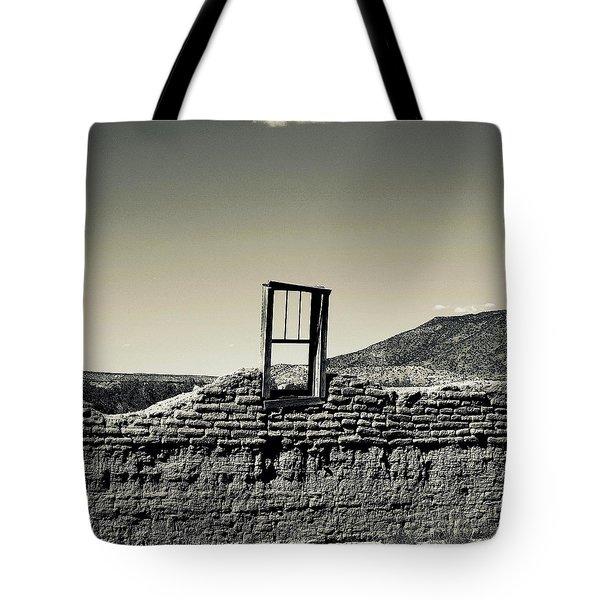 Sacred Window  Tote Bag