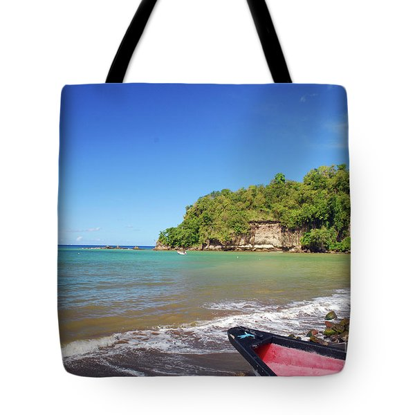 Tote Bag featuring the photograph Saint Lucia by Gary Wonning