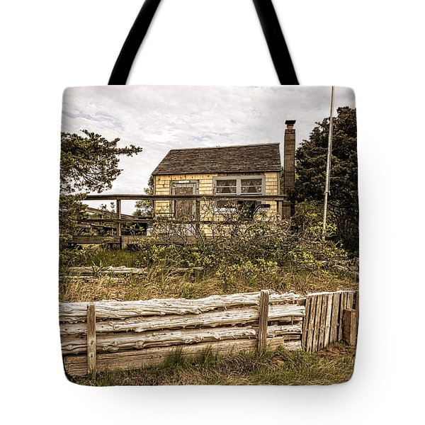 Sandy Neck Dune Shack Tote Bag