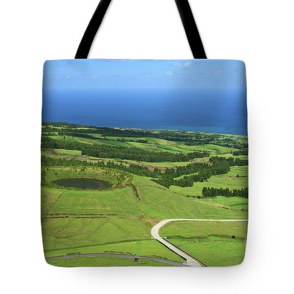 Sao Miguel - Azores Tote Bag by Gaspar Avila