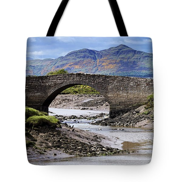 Tote Bag featuring the photograph Scottish Scenery by Jeremy Lavender Photography