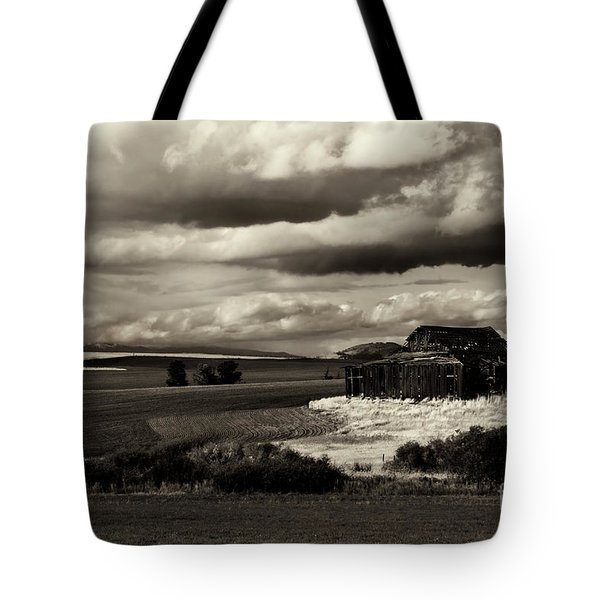 Tote Bag featuring the photograph Seen Better Days by Mike Dawson