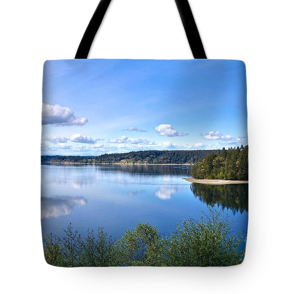 Serenity Tote Bag by Sean Griffin