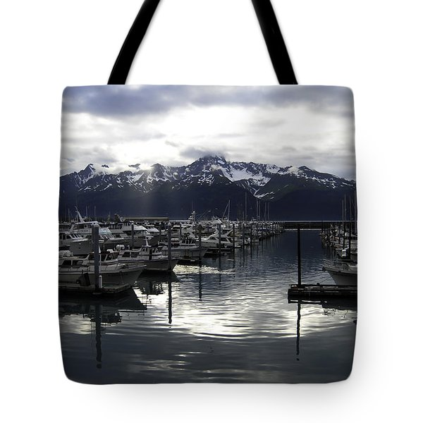 Seward Harbor Tote Bag
