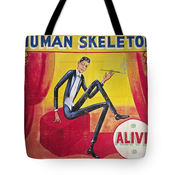 Sideshow Poster, C1965 Tote Bag