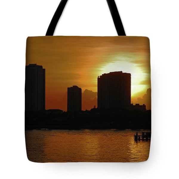Tote Bag featuring the photograph 2- Singer Island by Joseph Keane