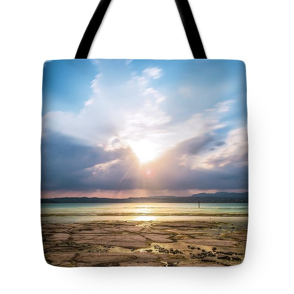 Tote Bag featuring the photograph Sirmione by Traven Milovich
