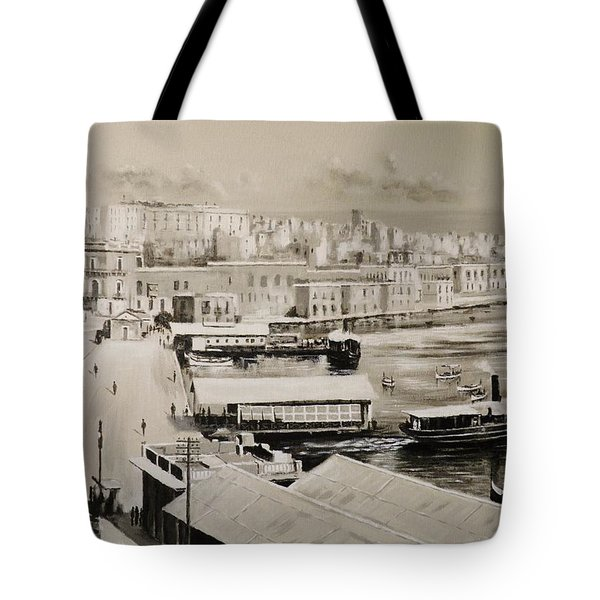 Sliema Ferries  1940 Tote Bag
