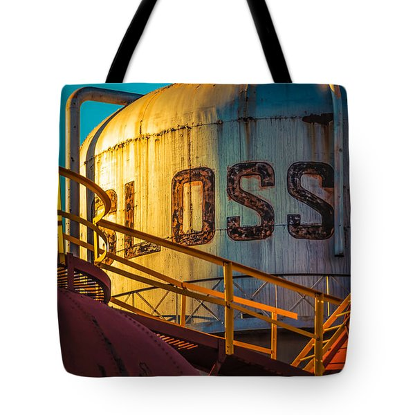 Sloss Furnaces Tote Bag by Phillip Burrow