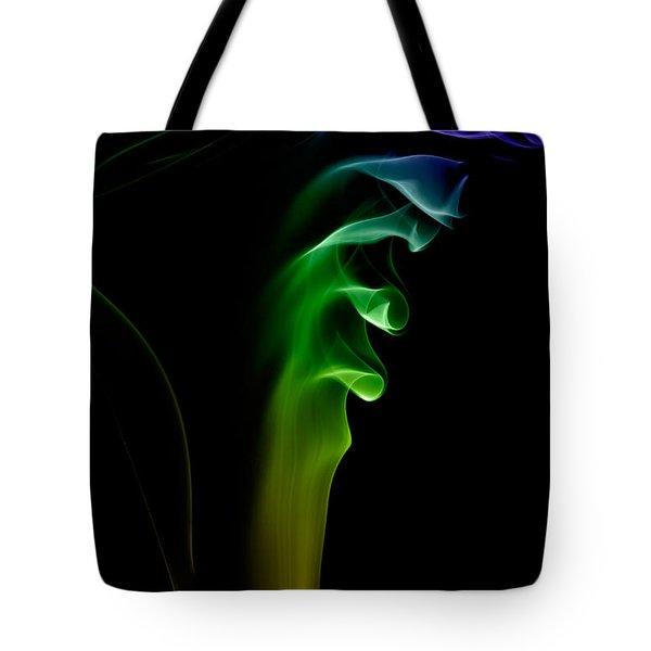 smoke XXVI Tote Bag by Joerg Lingnau