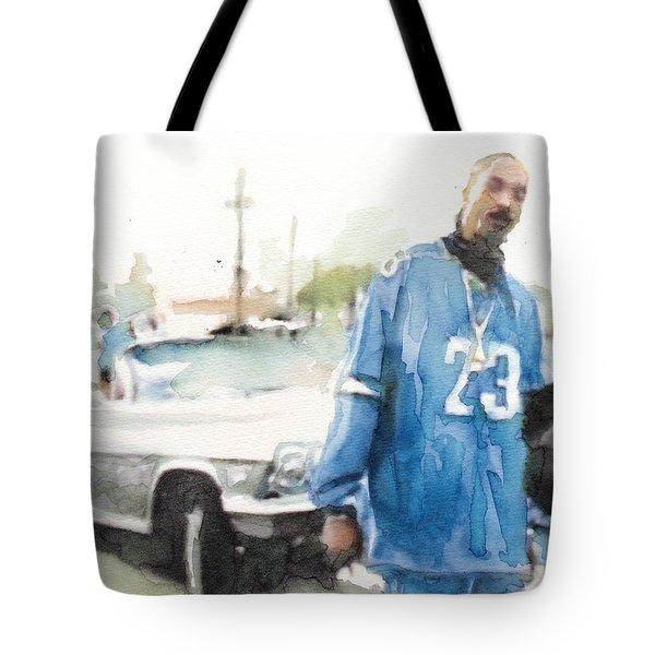 Snoop Detail Tote Bag by Jani Heinonen