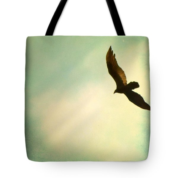Soaring Tote Bag by Amy Tyler