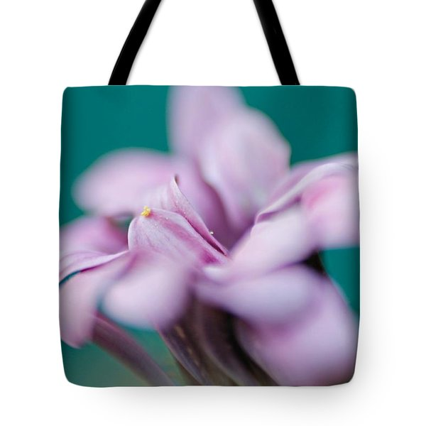 Tote Bag featuring the photograph Soft Pink by Michaela Preston