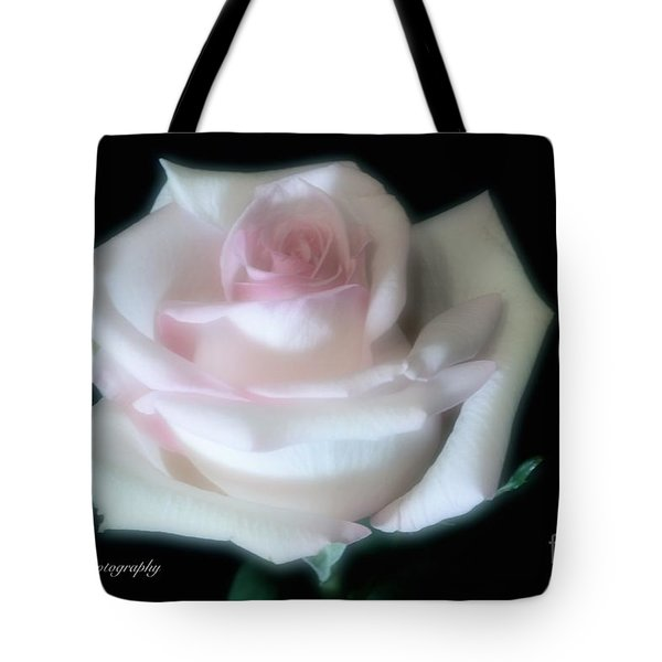 Soft Pink Rose Bud Tote Bag