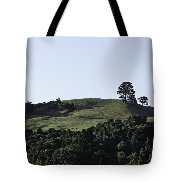Somewhere In New Zealand Tote Bag