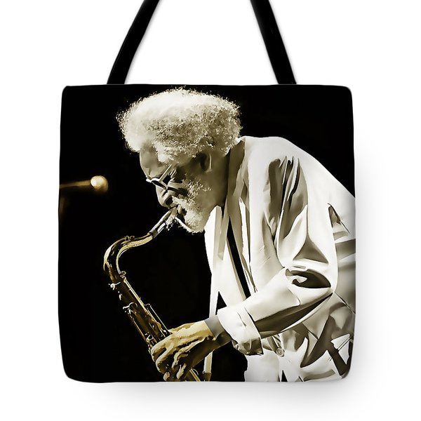 Sonny Rollins Collection Tote Bag by Marvin Blaine