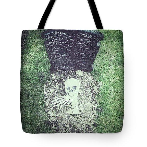 Spooky Grave Stones Tote Bag
