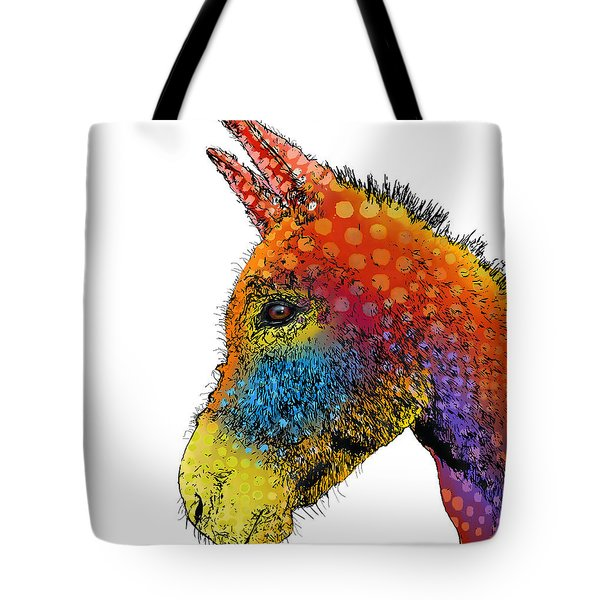 Spotted Donkey Tote Bag