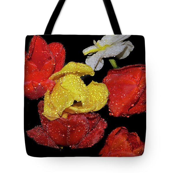 Tote Bag featuring the photograph Spring Flower by Elvira Ladocki