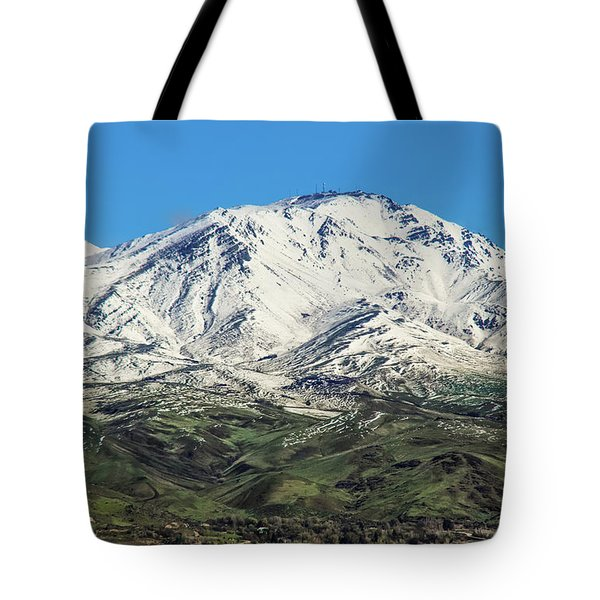 Squaw Butte Tote Bag by Robert Bales
