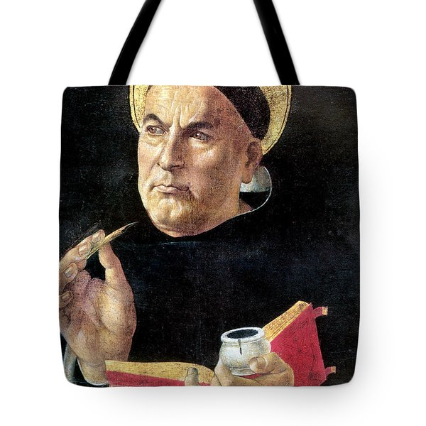 St. Thomas Aquinas Tote Bag