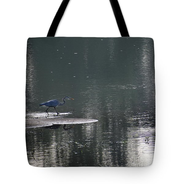 Tote Bag featuring the photograph Stalker  by Skip Willits
