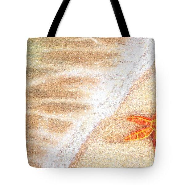 Starfish Vacation Tote Bag