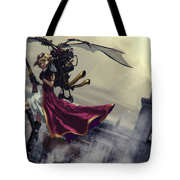 Steampunk Tote Bag