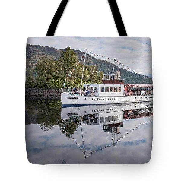 Steamship Sir Walter Scott On Loch Katrine Tote Bag