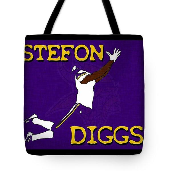 Stefon Diggs Tote Bag